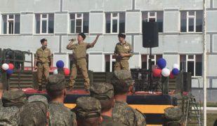Фронтовой ансамбль «Братья казаки» принял участие в концерте, посвященном дню Российской Гвардии