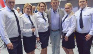 Выступление Фронтового ансамбля «Братья казаки» в Академии ФСБ