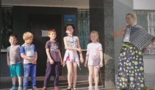 Репетиция ансамбля «Раменские казачата»